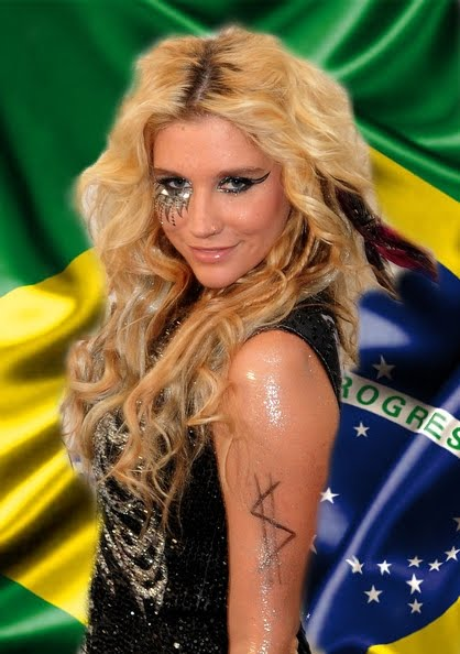 FOTO EXCLUSIVA TEENS FOREVER ke$ha no brasil