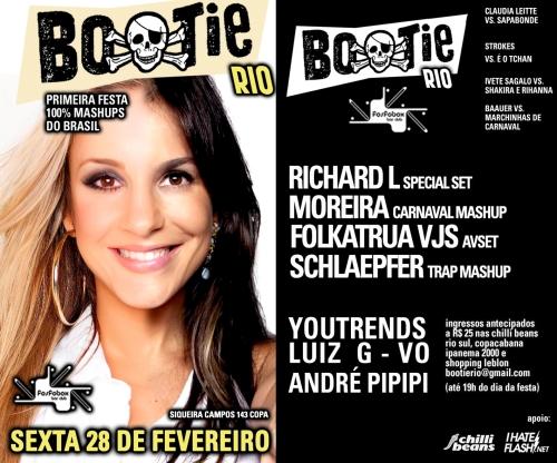 cola flyer fevereiro 2014 bootie rio carnaval